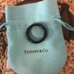 Tiffany & Company Jade Donut Ring 8